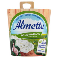 Almette Cheese Spinach & Garlic Flavour 150g