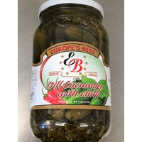 Europe's Best Chilli Dill Cucumbers 830g