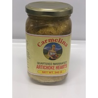Carmelina Artichoke Hearts Quartered 340g
