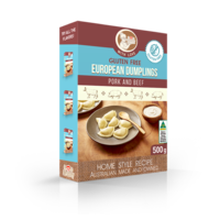 From Granny Gluten Free Pork & Beef Dumplings 500g