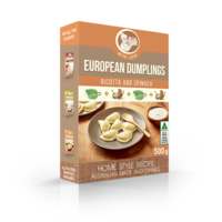 From Granny Ricotta & Spinach Dumplings 500g