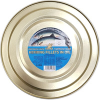 Fishka Herring Fillets in Oil 1.3kg