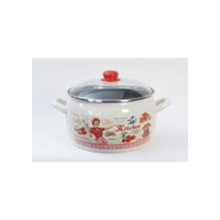 "Metalac Stew Pot with Lid ""Lady"" 4lt"