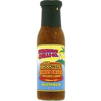 Byron Bay Chilli Co. Fiery Coconut Chilli Sauce 250ml