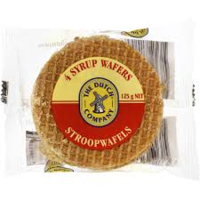 The Dutch Company Syrup Wafers (4) 125g