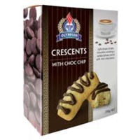 Olympian Crescents Choc Chip 250g