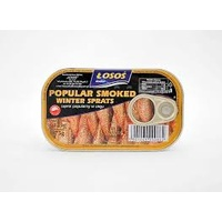 Losos Smoked Winter Sprats 125g