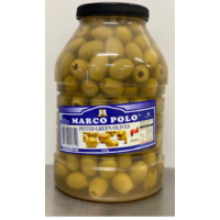 Marco Polo Pitted Green Olives 4.2kg