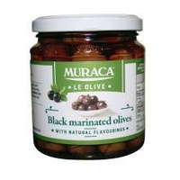 Muraca Black Marinated Olives 280g