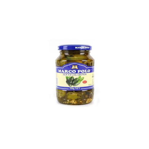 Marco Polo Sliced Jalapenos 350g